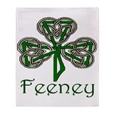 Feeney Shamrock Throw Blanket