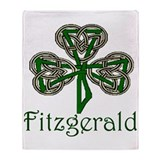 Fitzgerald Shamrock Throw Blanket