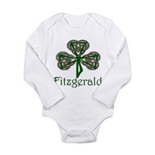 Fitzgerald Shamrock Long Sleeve Infant Bodysuit