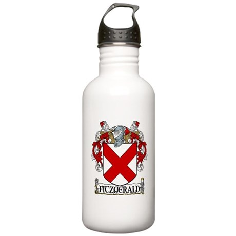 Fitzgerald Coat of Arms Stainless Water Bottle 1.0