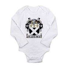 Fitzpatrick Coat of Arms Long Sleeve Infant Bodysu