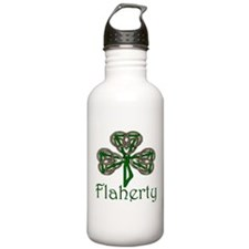 Flaherty Shamrock Water Bottle