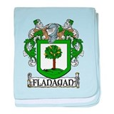 Flanagan Coat of Arms baby blanket