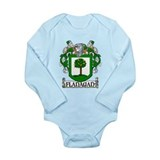 Flanagan Coat of Arms Long Sleeve Infant Bodysuit