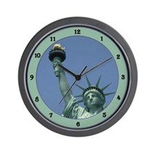 Cute Statue of liberty Wall Clock