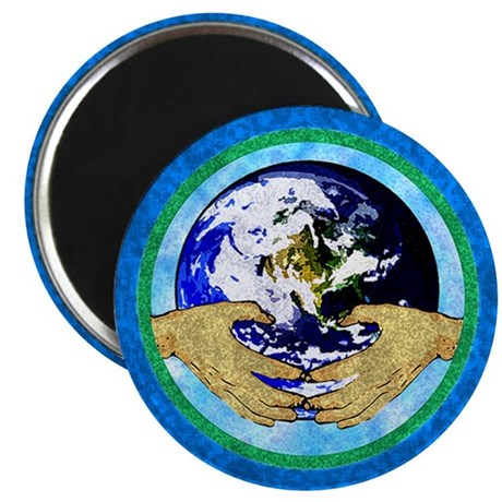 "Precious Earth 2.25"" Magnet (100 pack)"