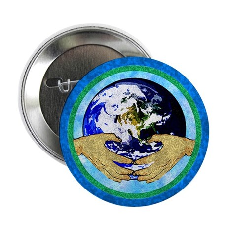 "Precious Earth 2.25"" Button (10 pack)"