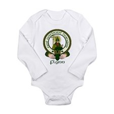 Flynn Clan Motto Long Sleeve Infant Bodysuit