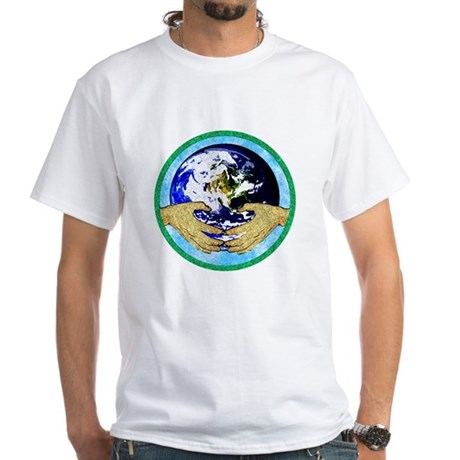 Precious Earth White T-Shirt