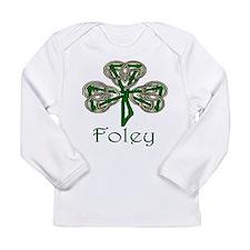 Foley Shamrock Long Sleeve Infant T-Shirt