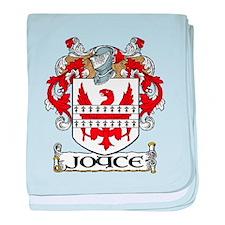 Joyce Coat of Arms baby blanket