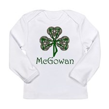 McGowan Shamrock Long Sleeve Infant T-Shirt