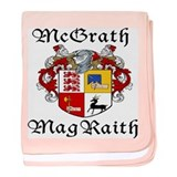 McGrath In Irish &amp; English baby blanket