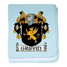 Griffin Coat of Arms baby blanket
