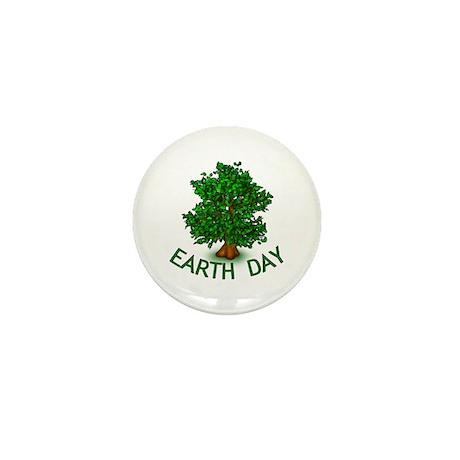 Earth Day Tree Hugger Mini Button