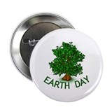 "Earth Day Tree Hugger 2.25"" Button (10 pack)"