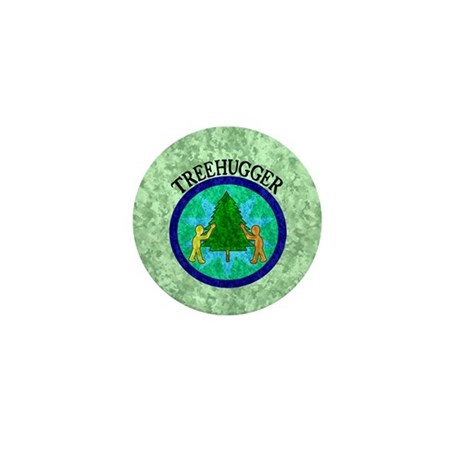 Tree Hugger Mini Button (100 pack)