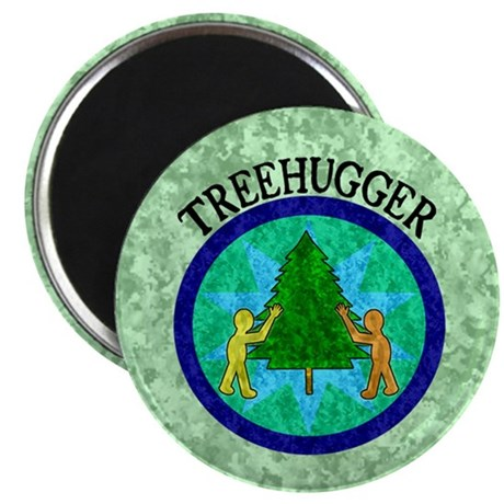 "Tree Hugger 2.25"" Magnet (100 pack)"