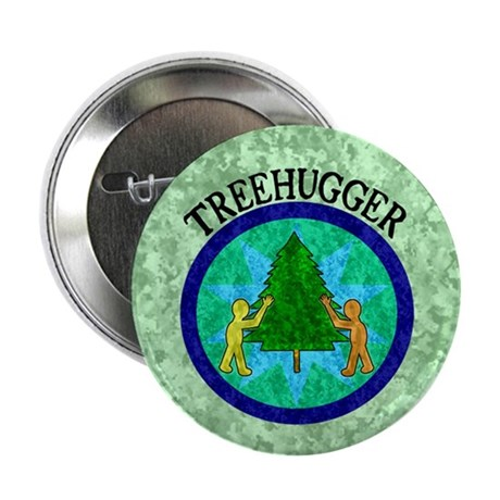 "Tree Hugger 2.25"" Button (10 pack)"