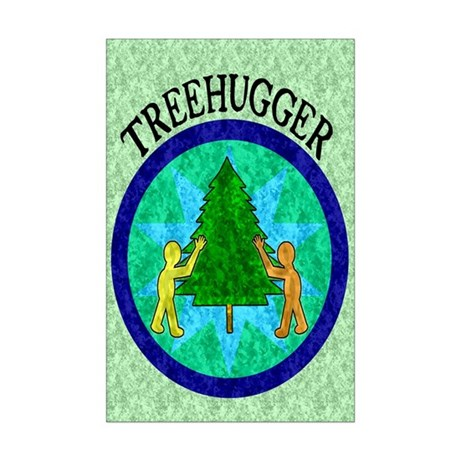 Tree Hugger Mini Poster Print