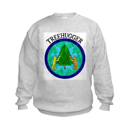 Tree Hugger Kids Sweatshirt