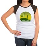 Sunset Lodges Women's Cap Sleeve T-Shirt