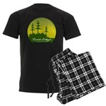 Sunset Lodges Men's Dark Pajamas