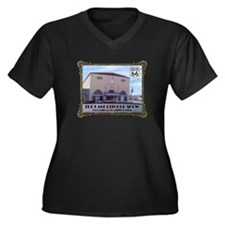 The Last Picture Show Women's Plus Size V-Neck Dar