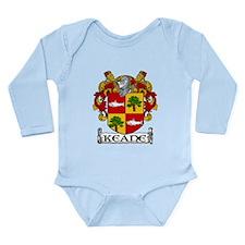Keane Coat of Arms Long Sleeve Infant Bodysuit