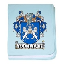 Kelly Coat of Arms baby blanket