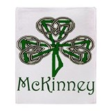 McKinney Shamrock Throw Blanket