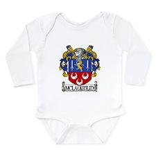 McLaughlin Coat of Arms Long Sleeve Infant Bodysui