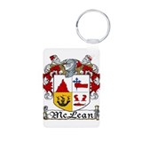 McLean Coat of Arms Aluminum Photo Keychain