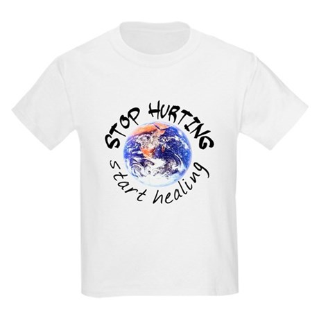 Stop Hurting Earth Kids T-Shirt