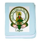 Logan Clan Motto baby blanket