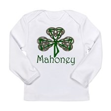 Mahoney Shamrock Long Sleeve Infant T-Shirt