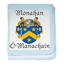 Monahan In Irish & English baby blanket
