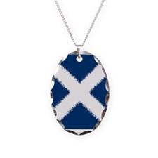 Scottish Flag Necklace