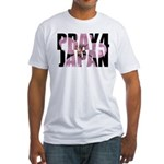 Pray 4 Japan Fitted T-Shirt