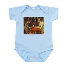 The Cardplayers Infant Bodysuit