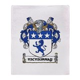 McMurray Coat of Arms Throw Blanket