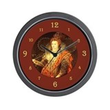 Cute Queen of england Wall Clock