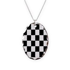 Checkered Flag Necklace