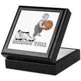 Basketball Dream Tall Keepsake Box