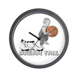 Basketball Dream Tall Wall Clock