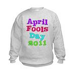 2011 April Fool's Day Kids Sweatshirt