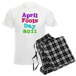 2011 April Fool's Day Men's Light Pajamas