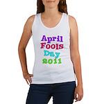 2011 April Fool's Day Women's Tank Top