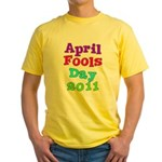 2011 April Fool's Day Yellow T-Shirt