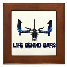 Life Behind Bars Framed Tile